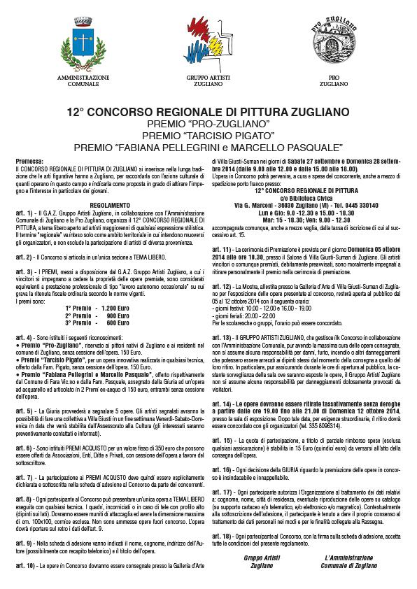 Bando Concorso regionale Pittura Gaz rev 18-07-14